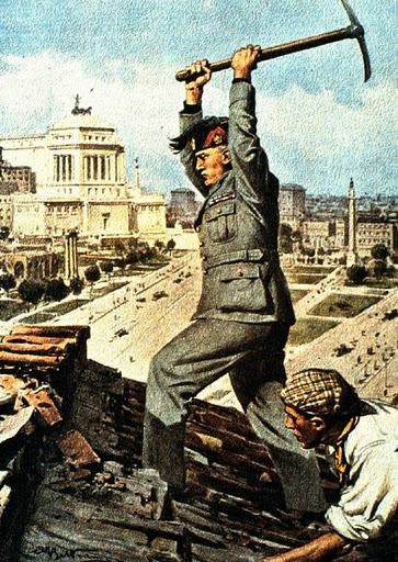MussoliniViaImpero 1